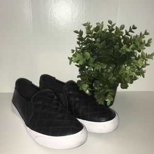 Black Slip On Quilted Guess Sneakers